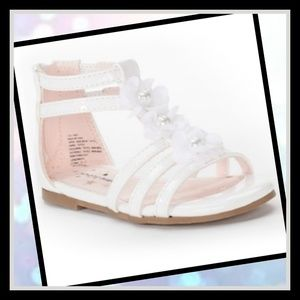 New! Jumping beans Toddler Gladiator Sandals SzY10